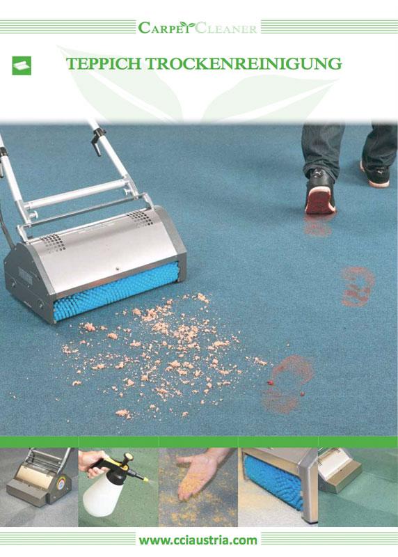 Wögenstein – Carpet Cleaner Trocken Teppichreinigung Folder